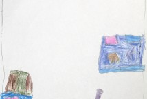 O projeto se desenvolveu a partir das vivências com rodas de leitura de histórias de matriz afrodescendente, onde as crianças a partir das histórias ouvidas criam, sonham e imaginam suas novas histórias através de desenhos.