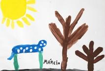 O projeto se desenvolveu a partir da leitura da poesia e da música Asa Branca, da dupla Luiz Gonzaga e Humberto Teixeira, que despertou inquietação e reflexão nas crianças sobre a seca no Nordeste brasileiro.