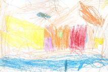 A mostra é produto do desafio lançado para as crianças: Vamos decorar e deixar nossa escola bonita?