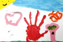 As histórias e desenhos criados pelas crianças irão se transformar numa série de desenho animado para televisão. Criar história é coisa de criança.