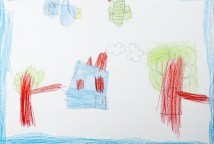 NOSSA ANCESTRALIDADE é composta por 21 desenhos e foi inspirada na leitura de livros de literatura infantil que apresentava personagens protagonistas de vovós e vovôs, suas sabedorias e ensinamentos. As crianças manifestam em seus desenhos sua busca de pertencimento e valorização de sua ancestralidade.