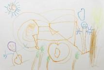 Natureza é produto da mobilização de toda a escola, educadoras e crianças do grupo 2 ao 5º ano, que através da leitura, reflexão crítica e expressão através da arte, criaram os desenhos celebrando a vida e a defesa firme da natureza.